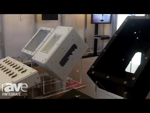 Integrate 2016: Alectro Features Its Custom Fabrication Mounting Boxes