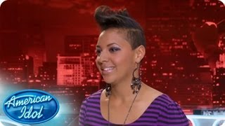 Cristabel Clack Auditions - AMERICAN IDOL SEASON 12