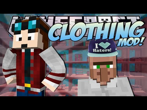 Minecraft   CLOTHES MOD! (Fabulous Fashion Creation!)   Mod Showcase