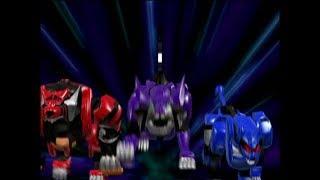 Power Rangers Jungle Fury - Dash for the Dagger - Megazord Fight 1 (Episode 20)