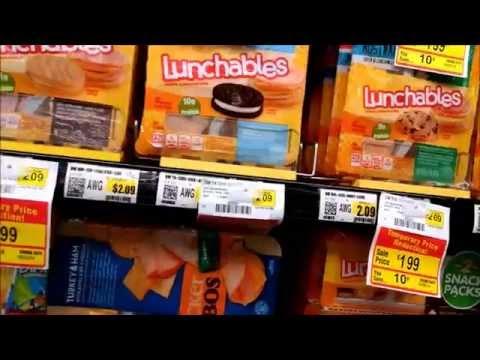 Как школьники питаются в Америке. Часть 1 - магазин. жизнь в Америке, в США.