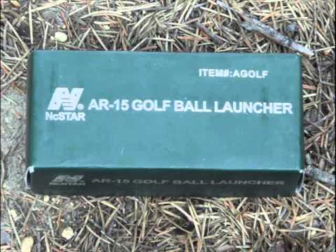 AR-15 Golf Ball Launcher