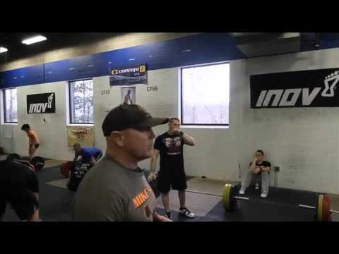 CrossFit -  Fixing Malleolo's Snatch Form with Coach Burgener Image 1
