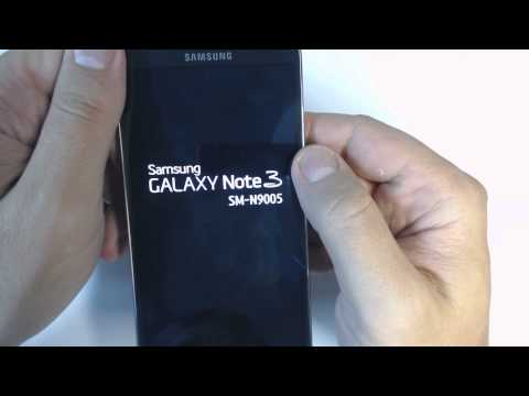 Samsung Galaxy Note 3 N9005 - How to reset - Como restablecer datos de fabrica