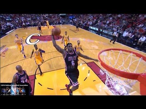 LeBron James Offense Highlights 2013/2014 Part 3