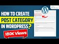 How to Create Post Category | How to Add Category in Menu | How to Display Post in Wordpress |Part-5