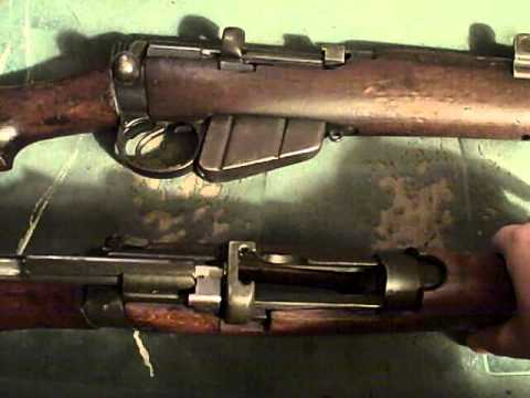 How to Remove the Bolt from a Lee Enfield Rifle