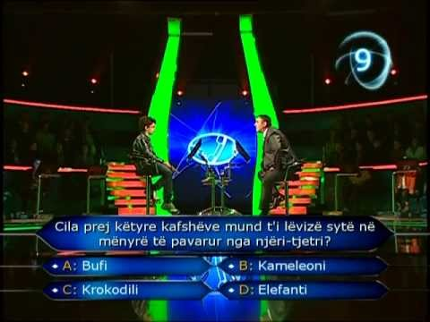 Junior Who Wants to be a Millionaire_ Reni Maci 1/2
