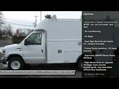 Ford Utility Van Ford Box Utility Van Body E350