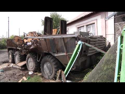 Красный Луч, Новопавловка, атаки со стороны украинской армии