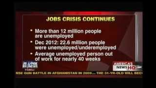 Obama Brings the Pain: More Than 12 Million People Remain Unemployed