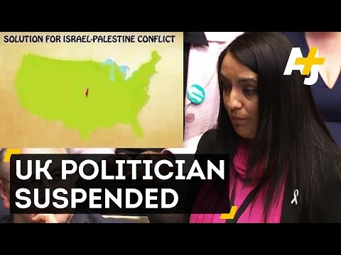 UK MP Suspended For Anti-Israel Post