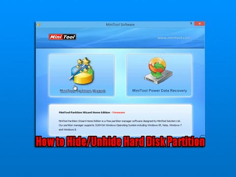 How to Hide/Unhide Hard Disk Partition