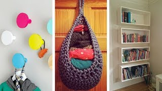 19 Hanging Storage Hacks For People With Limited Budget