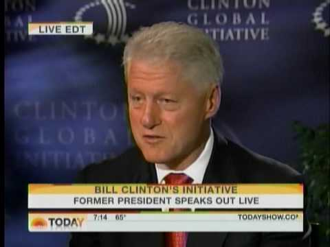 Today Show on Bill Clinton Global Initiative pt 2