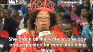 Prophet TB Joshua Anointing Water Testimony Healed of Spinal Cord Injury Emmanuel TV 20 Oct 13 SCOAN