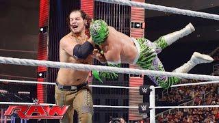 Sin Cara vs. Baron Corbin: Raw, July 18, 2016