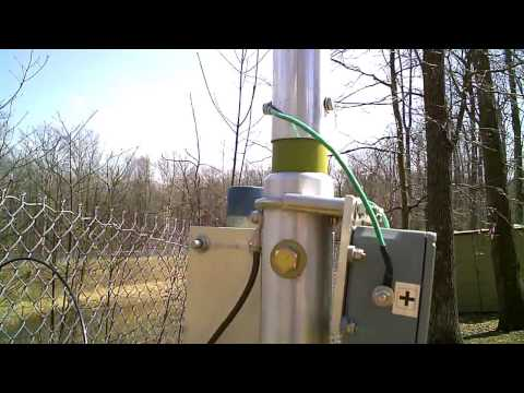 Zero-Five Vertical Antenna Setup at KC9FFV's QTH