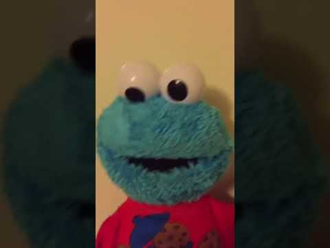 Cookie Monster divertido y cantando para niños!!