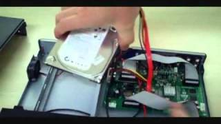 How to - Zmodo H9008UV Hard Drive Installation CCTV Security DVR System