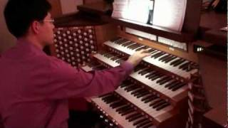 We are Bound for Canaan Land - DARE TO STAND - John Hong Organ Hymn Improvisation 허
