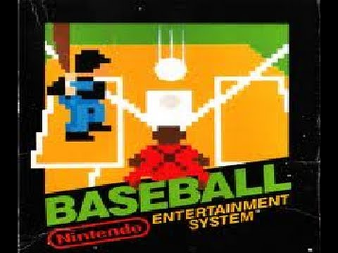 Classic Games – Baseball (NES) Let's Play