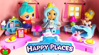 Disney Happy Places Princess Cinderella Ella Sparkle Bedroom Move In With LOL Surprise Doll