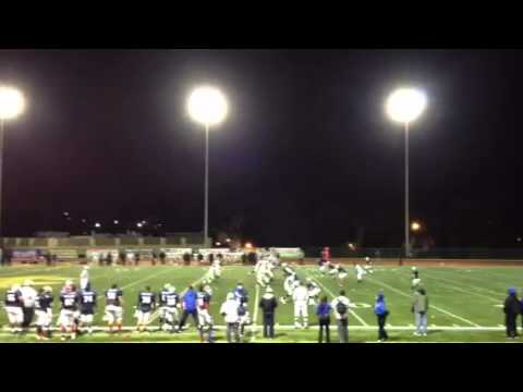 Jim Simmons scores TD in Lions All-Star game