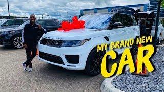 MY BRAND NEW CAR   2019 RANGE ROVER SPORT HST