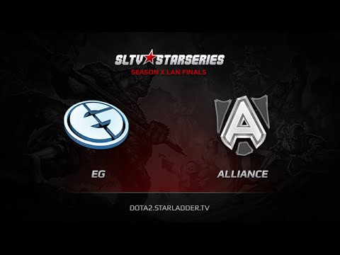EG vs Alliance, SLTV StarSeries X Finals, Game 6