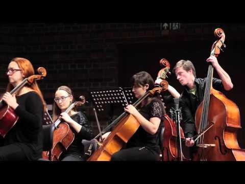 Sebastian Ładyżyński – Dark Matter For Flute, Orchestra And Electronics. Perf. By Łukasz Długosz.