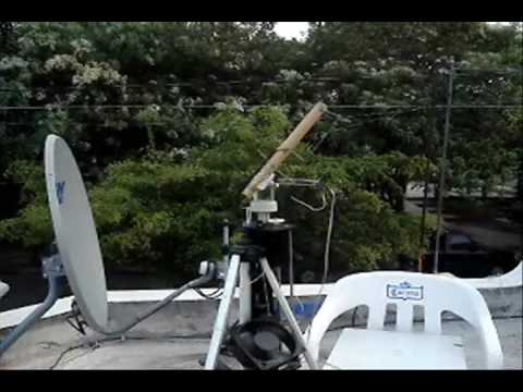XE1AZJ Robotic Satellite Tracking System