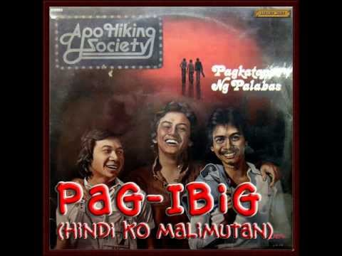 Pag Ibig By Apo W  Lyrics Hd video