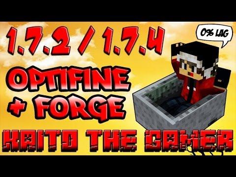 TutoMinecraft   Descargar e Instalar Optifine Mod + Minecraft Forge [1.7.2] [Pirata & Premium]