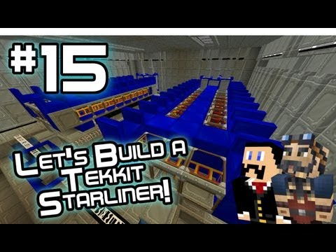 Let's Build a Tekkit Starliner! Ep15: In Case Of Emergency