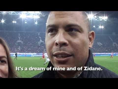 Match Against Poverty 2010 Ronaldo Interview