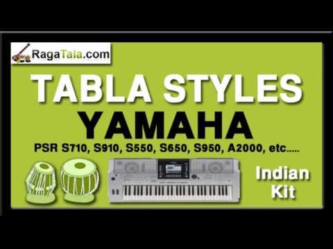 Jane baharan - Yamaha Tabla Styles - Indian Kit - PSR S710 S910...