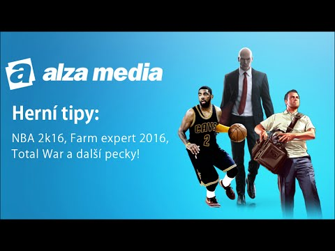 Herní tipy: NBA 2K16. Hitman Collection. Total War Atilla a další! - Alza Media #14