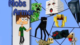 Minecraft - Mobs Armor with only one command | Vanilla Minecraft
