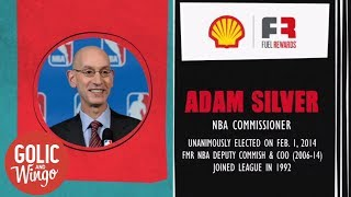 Did Adam Silver consider becoming the new NFL commissioner? | Golic and Wingo | ESPN