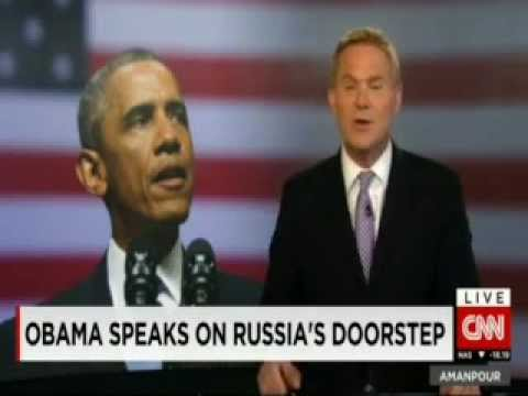 #OBAMA SPEAKS ON RUSSIA'S DOORSTEP #JoeBiden