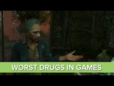The 6 Worst Drugs In Videogames