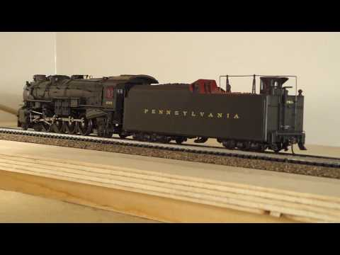 HO Locomotive Broadway Limited Imports BLI  PRR M1b 4-8-2  PT.1.MP4