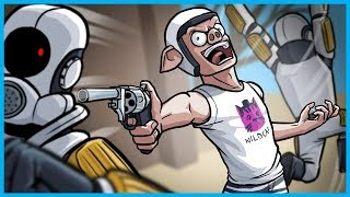 Garry's Mod Guess Who Funny Moments! - The NPCs Fight Back! (The Secret Magnum!)