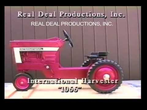 International Harvester 1066 Pedal Tractor - Ertl -  IH