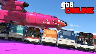 STUNT FAILS & BOMBUSHKA BRIDGE! || GTA 5 Online || PC