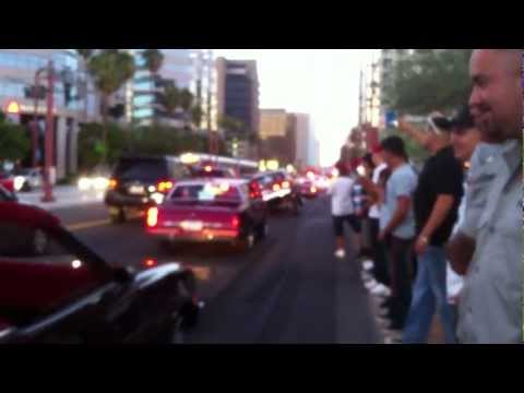 LOWRIDER'S AT THE PHOENIX AZ CENTRAL CRUZE