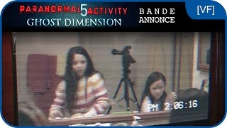 PARANORMAL ACTIVITY 5 GHOST DIMENSION - Bande-annonce [VF]