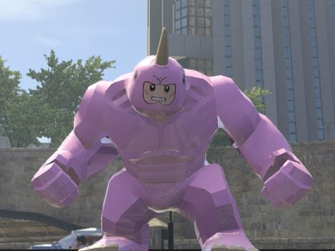 LEGO Marvel Superheroes - Pink Rhino FREE ROAM GAMEPLAY (MOD SHOWCASE)