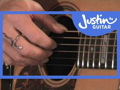 Folk Fingerstyle 2 (Guitar Lesson TE-022) How to play